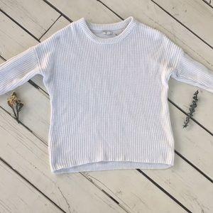 3/4 sleeve cream fall sweater 🍁